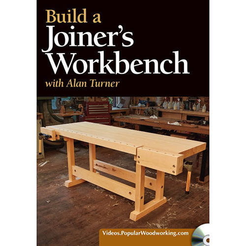 DVD cover for Build a Joiner's Woodworking Workbench with Alan Turner