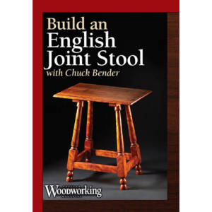 DVD cover for Build an English Joint Stool with Chuck Bender