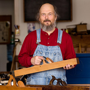 Bill Andersonwoodworking instructor at the woodandshop traditional woodworking school