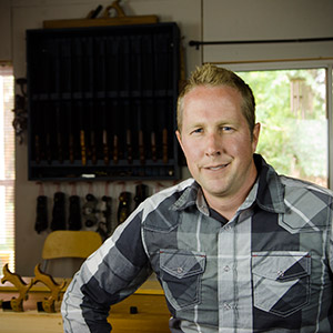 Joshua Farnsworth woodworking instructor at the woodandshop traditional woodworking school