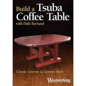 DVD cover of Build a Tsuba Coffee Table with Dale Barnard
