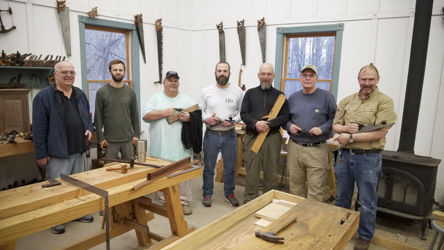 Handplane skills woodworking class with Bill Anderson
