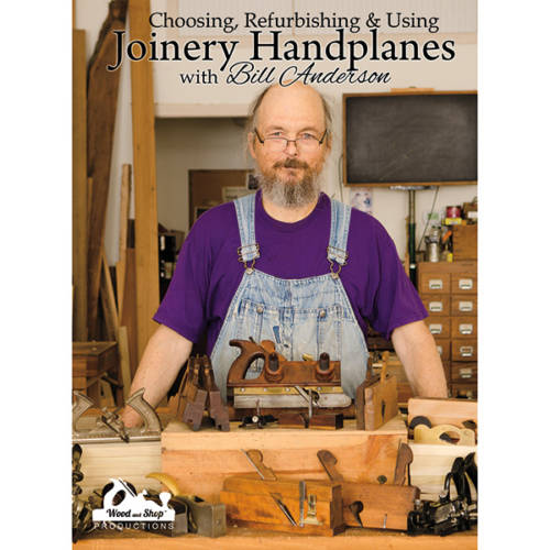 Joinery planes DVD cover with Bill Anderson